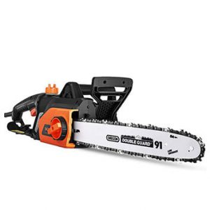 TACKLIFE 15 Amp Lightweight Corded Chainsaw