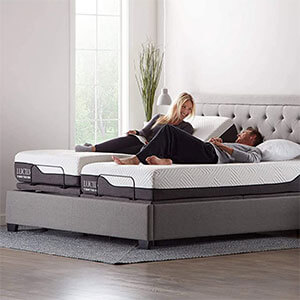 LUCID L600 Adjustable Bed Base