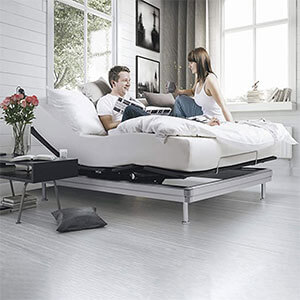 Yaasa Luxe Adjustable Bed Frame Queen