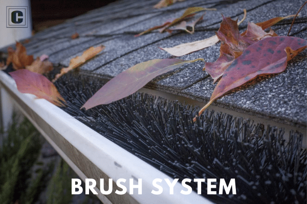Brush Gutter Guard System
