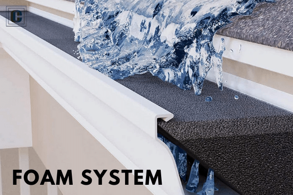Foam Gutter Guard System